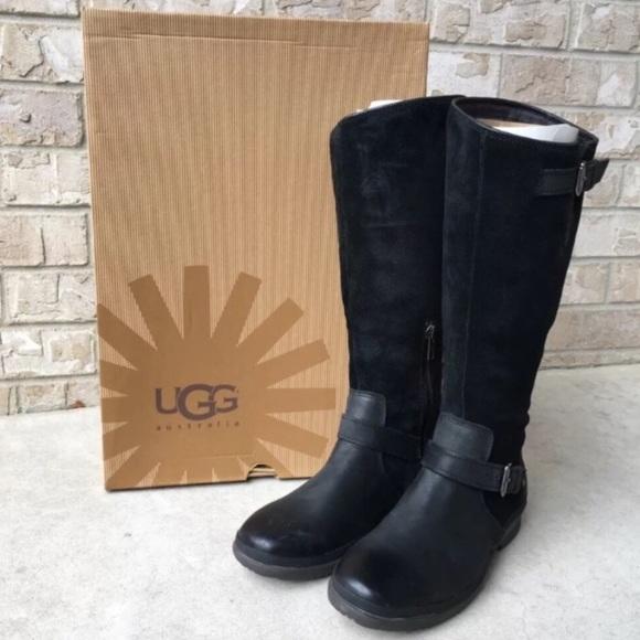 6bdbc70b319 UGG Thomsen Black Boots Knee 5.5 M New With Tag ❄️ NWT